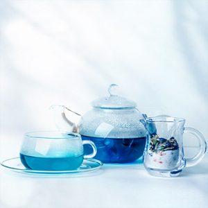molfon(モルフォン)青いお茶、蒼いお茶